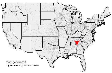 US Zip code Douglasville - Georgia