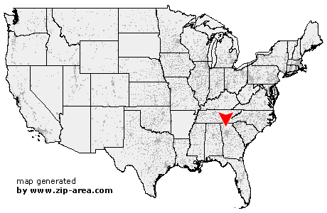 Jasper Georgia Map.Us Zip Code Jasper Georgia