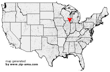 Lyons Illinois Map.Us Zip Code Lyons Illinois