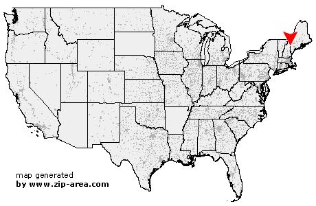 Lovell Maine Map.Us Zip Code Lovell Maine