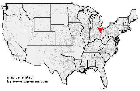 Ashley Ohio Map.Us Zip Code Ashley Ohio