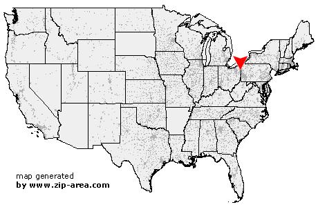 Youngstown Zip Code Map Danielrossi